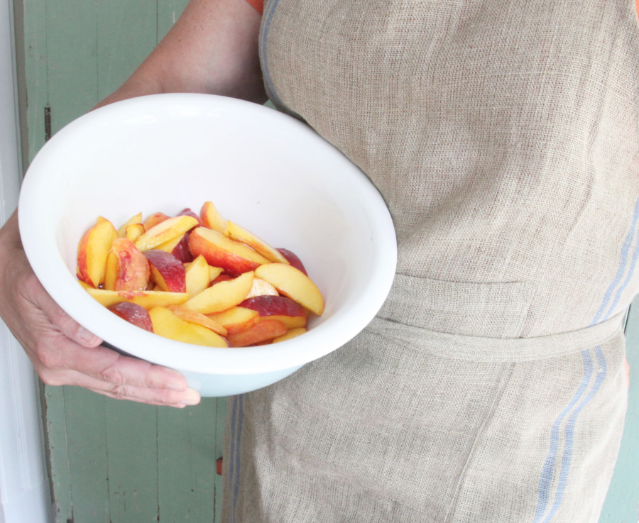 Contact Me Bowl of Peaches