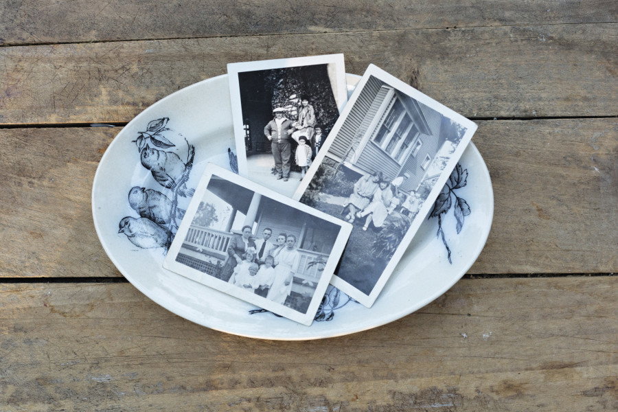 Repurposed Vintage Photo Ideas