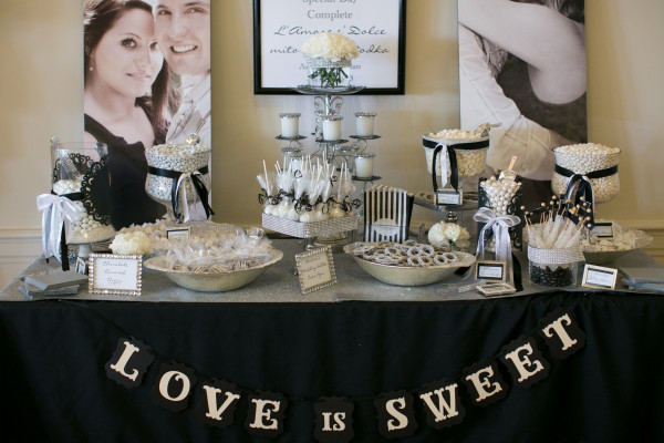 Love Is Sweet Candy Buffet