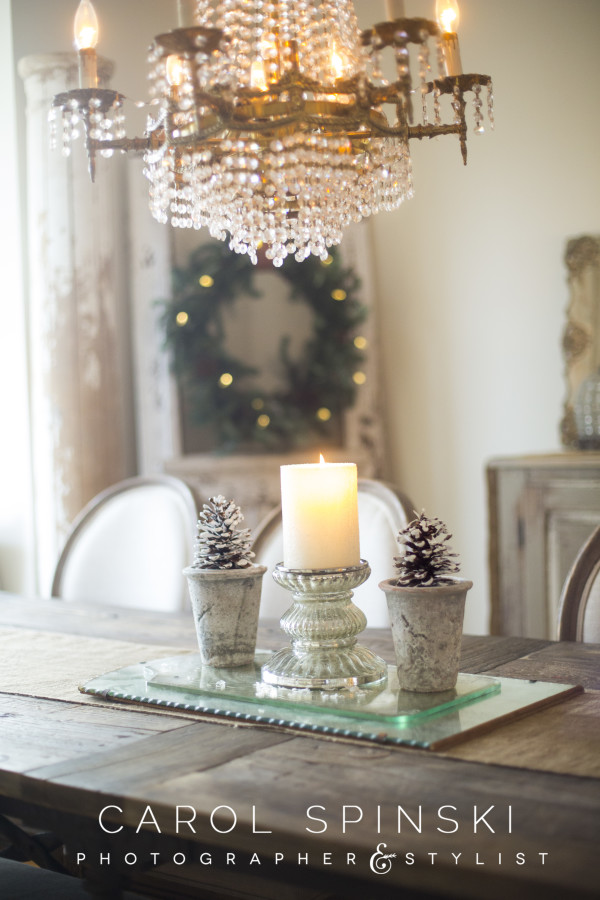 Pinecone tabletop display