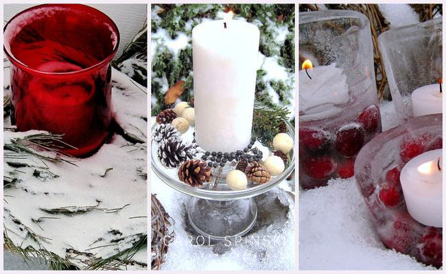 Outdoor Winter Decorating IdeasCarol Spinski - Carol Spinski