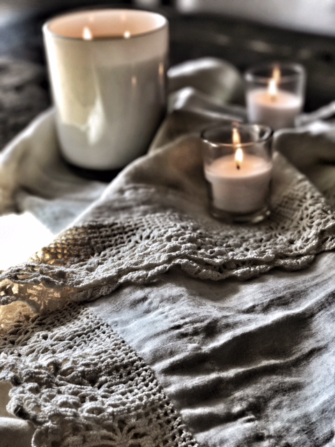 Candles and Linens